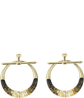Alexis Bittar - Pierced Liquid Hoop Earrings