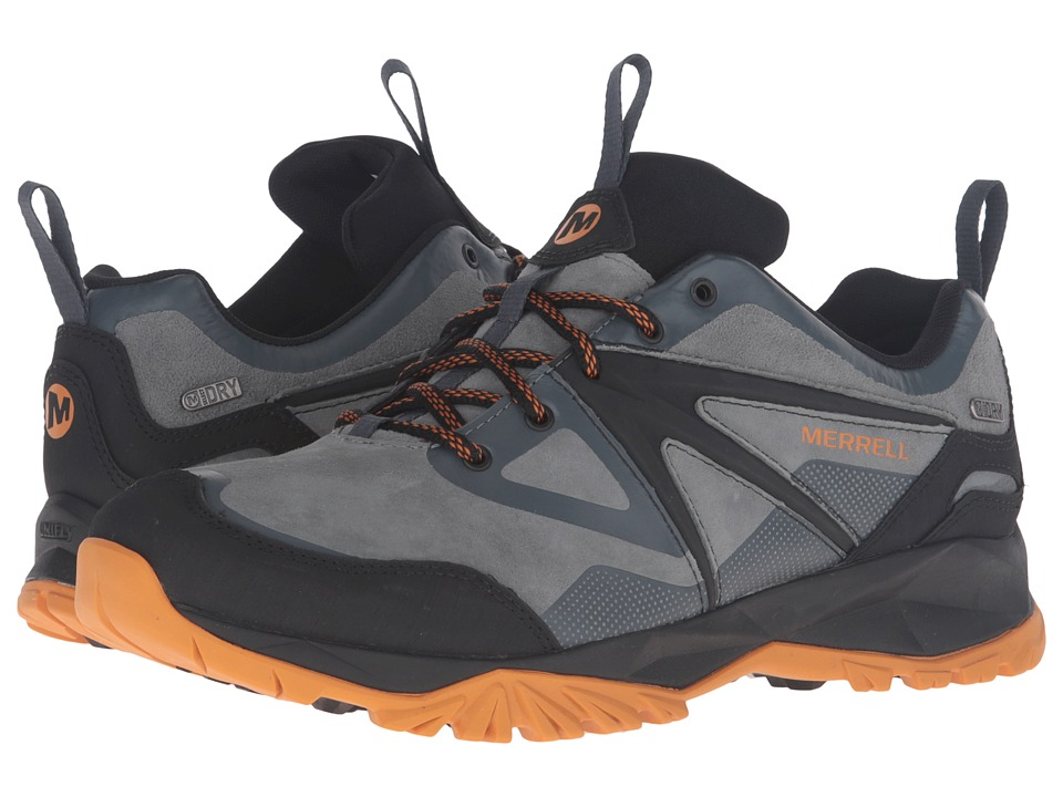 Merrell - Capra Bolt Leather Waterproof (Dark Slate) Men