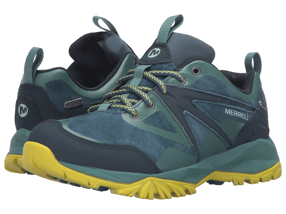 Merrell - Capra Bolt Leather Waterproof (Sagebrush Green) Women