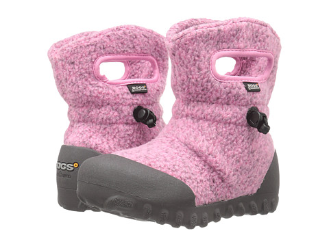 Bogs Kids B-Moc Fleece (Toddler/Little Kid) - Pink