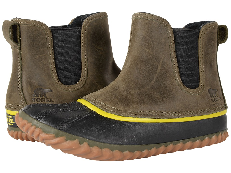 SOREL - Out N About Chelsea (Peatmoss) Womens Waterproof Boots