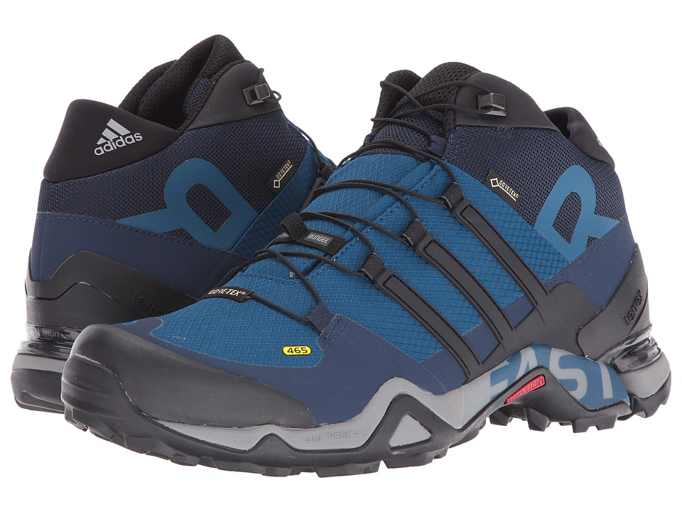 adidas Outdoor Terrex Fast R Mid GTX (Tech Steel/Black/Collegiate Navy) Men