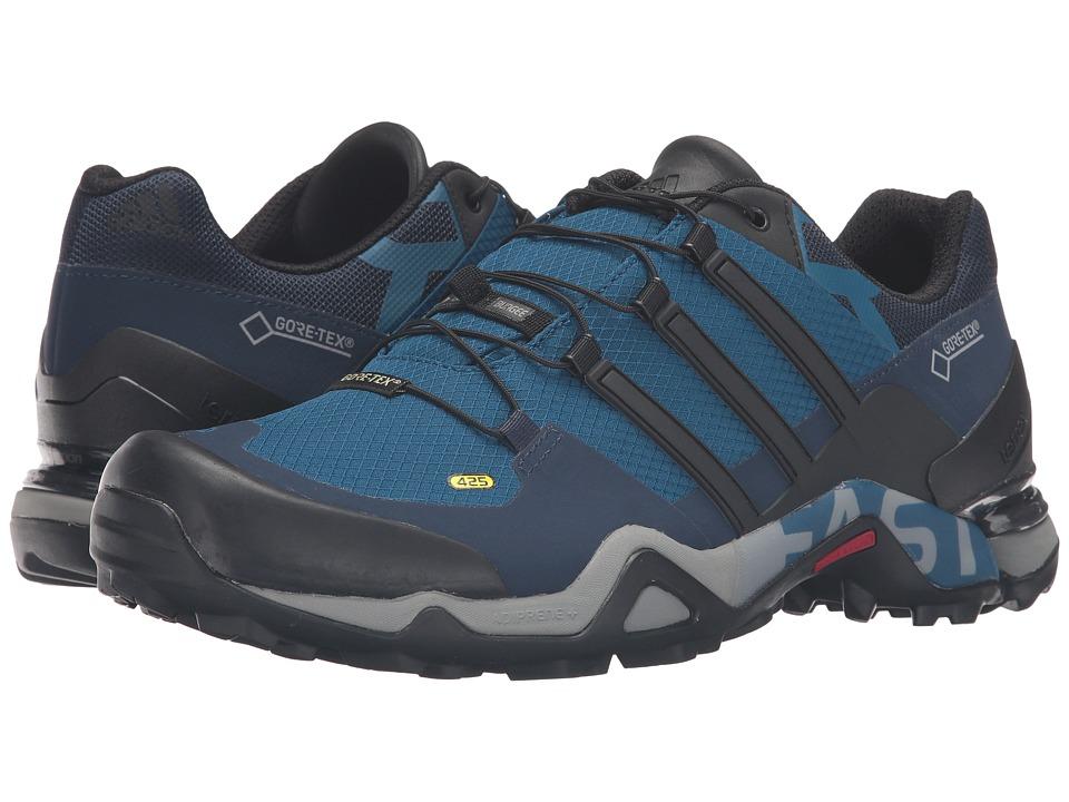 adidas Outdoor - Terrex Fast R GTX (Tech Steel/Black/Collegiate Navy) Men