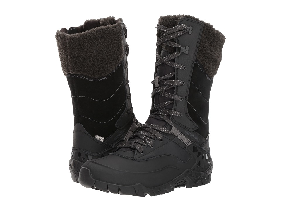 Merrell - Aurora Tall Ice+ Waterproof (Black) Womens Boots