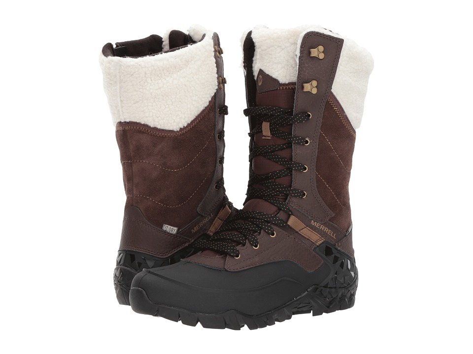 Merrell Aurora Tall Ice+ Waterproof (Espresso) Women