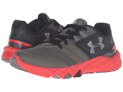 Under Armour Kids UA BGS Primed (Big Kid) - Graphite/Anthem Red/Steel