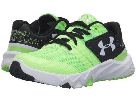 Under Armour Kids UA BGS Primed (Big Kid) - Limelight/Black/White