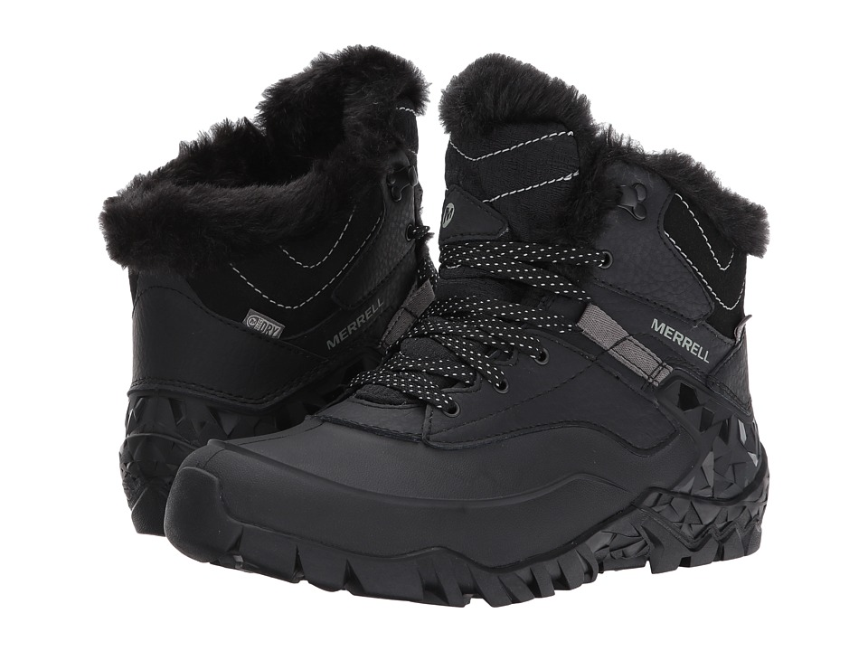 Merrell - Aurora 6 Ice+ Waterproof (Black) Womens Boots