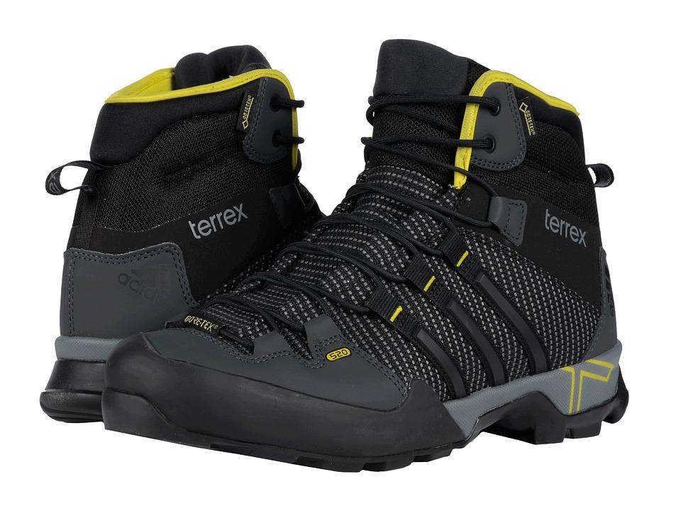 adidas Outdoor - Terrex Scope High GTX (Dark Grey/Black/Vista Grey) Men