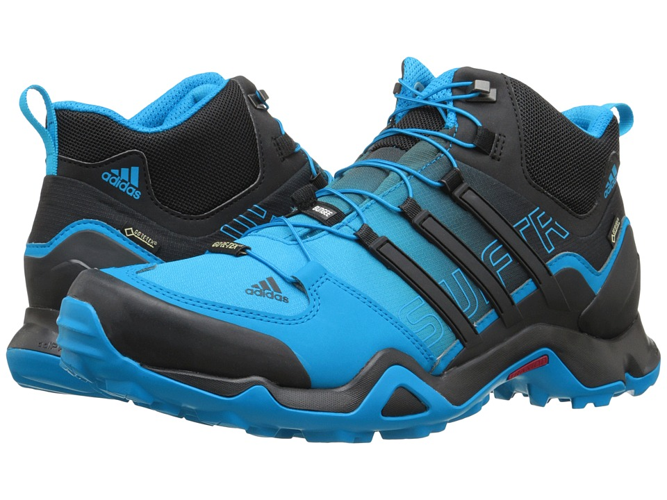 adidas Outdoor - Terrex Swift R Mid GTX (Shock Blue/Black/Chalk White) Men