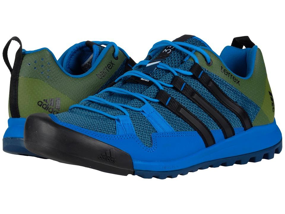 adidas Outdoor - Terrex Solo (Tech Steel/Black/Blanch Blue) Men