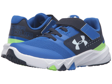 Under Armour Kids UA BPS Primed AC (Little Kid) - Ultra Blue/Midnight Navy/White