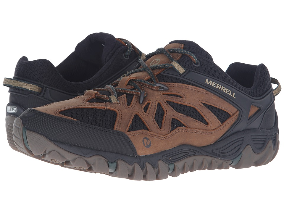 Merrell All Out Blaze Vent Merrell Tan Mens Shoes