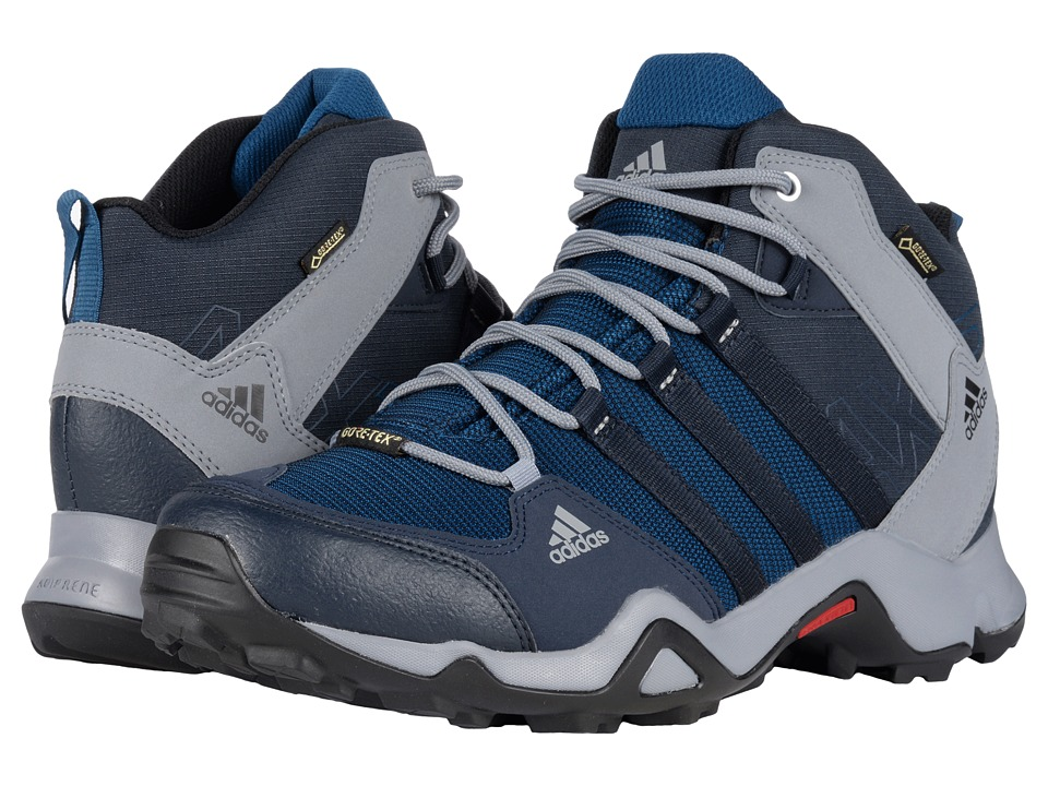 adidas Outdoor - AX 2 Mid GTX (Night Navy/Black/Collegiate Navy) Men