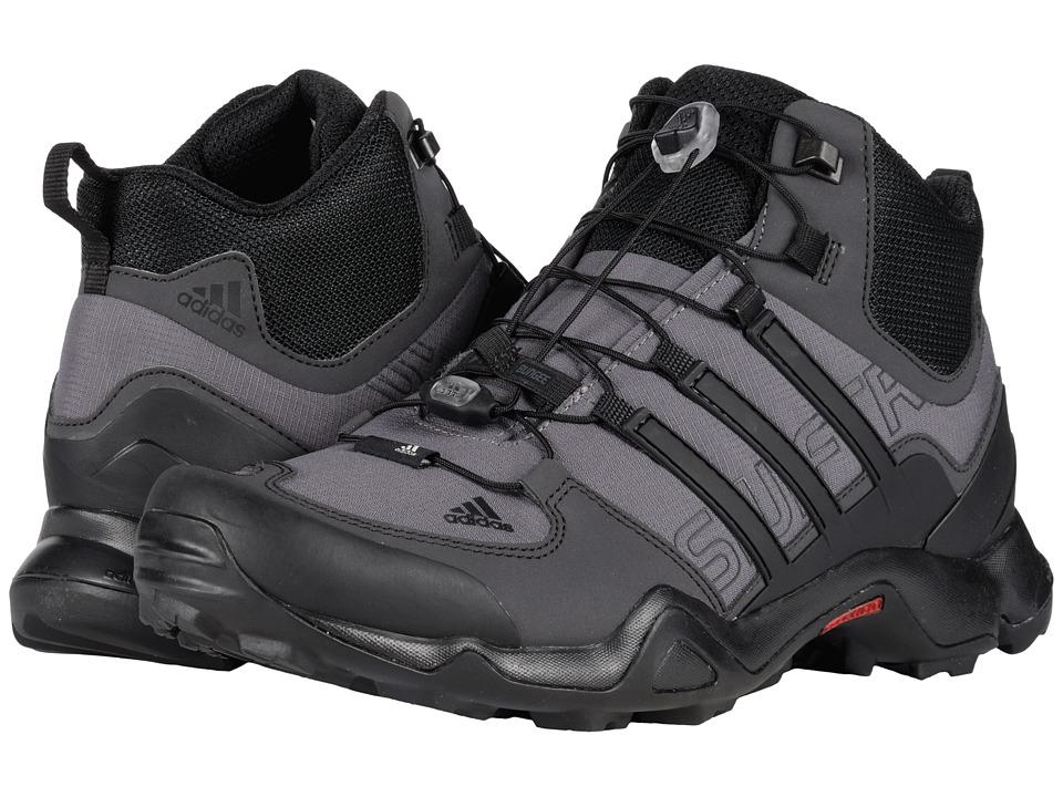 adidas Outdoor - Terrex Swift R Mid (Granite/Black/Shadow Black) Men