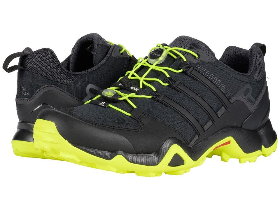 adidas Outdoor - Terrex Swift R (Black/Solar Yellow/Utility Black) Men