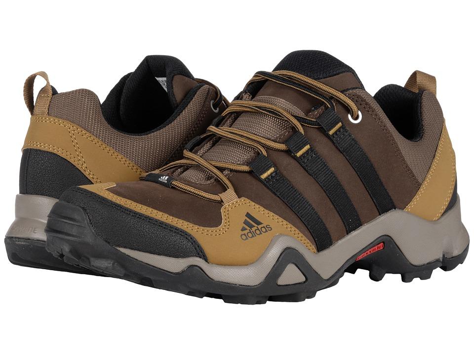 adidas Outdoor - Brushwood Leather (Brown/Black/Craft Khaki) Mens Shoes
