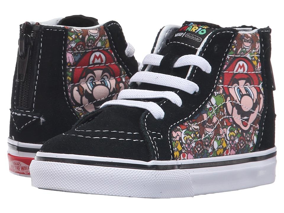 Vans Kids - Sk8-Hi Zip (Toddler) ((Nintendo) Mario & Luigi) Kids Shoes