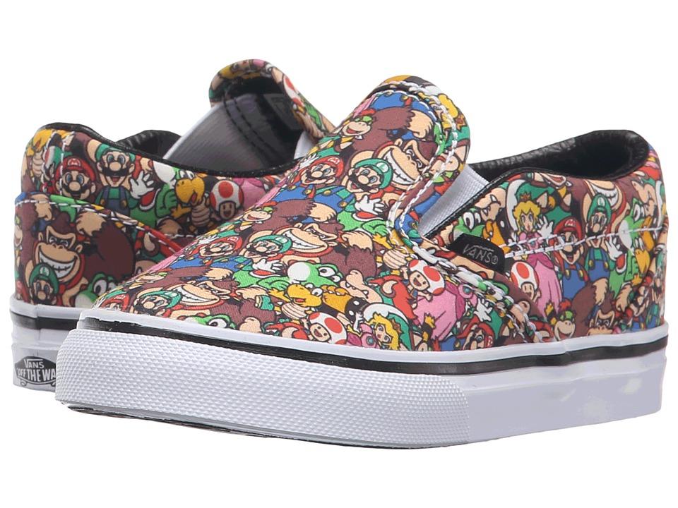 Vans Kids - Classic Slip-On (Toddler) ((Nintendo) Super Mario Bros/Multi) Kids Shoes