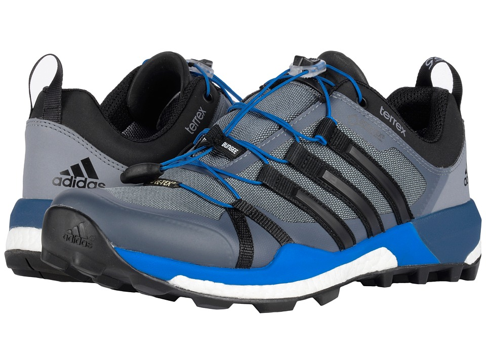 adidas Outdoor Terrex Skychaser GTX (Vista Grey/Black/Shock Blue) Men