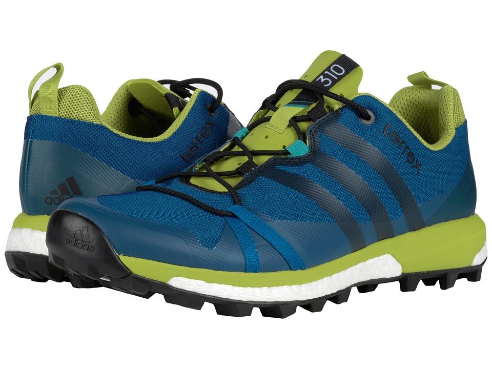 adidas Outdoor - Terrex Agravic (Tech Steel/Black/Unity Blue) Men