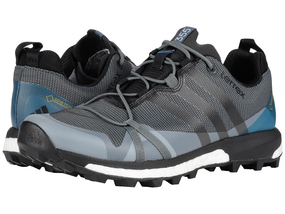 adidas Outdoor - Terrex Agravic GTX (Vista Grey/Black/Shock Blue) Men