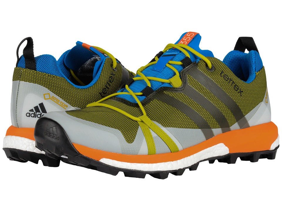 adidas Outdoor - Terrex Agravic GTX (Unity Lime/Black/Unity Orange) Men