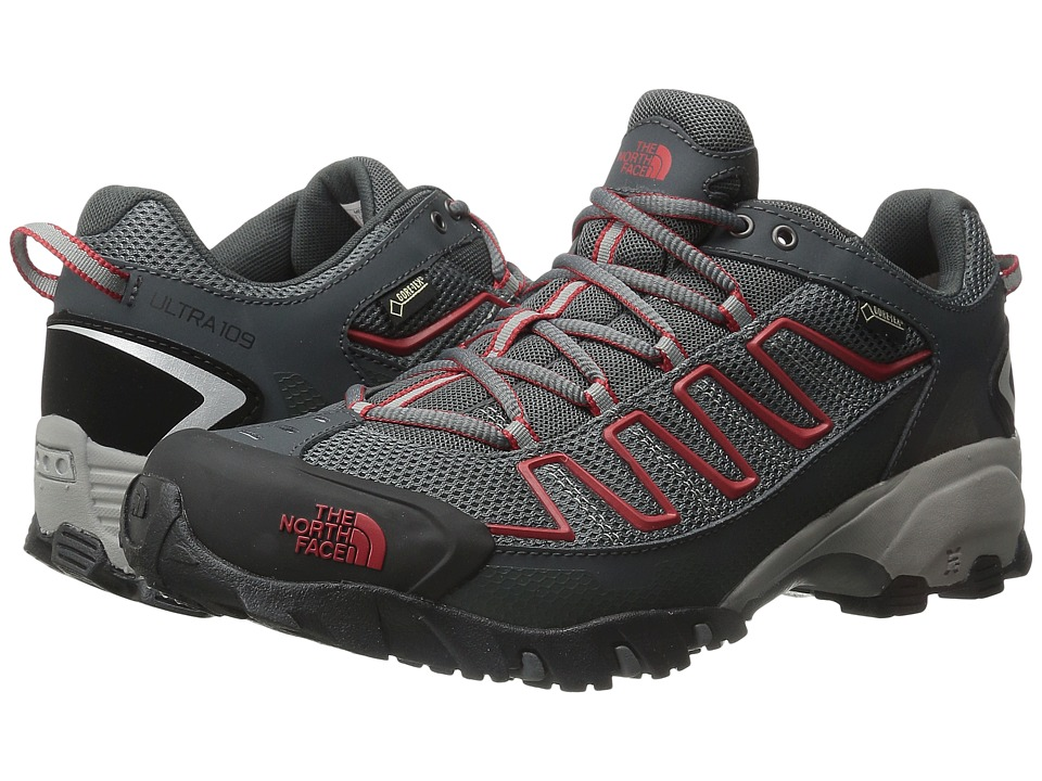 The North Face Ultra 109 GTX (Zinc Grey/Pompeian Red) Men