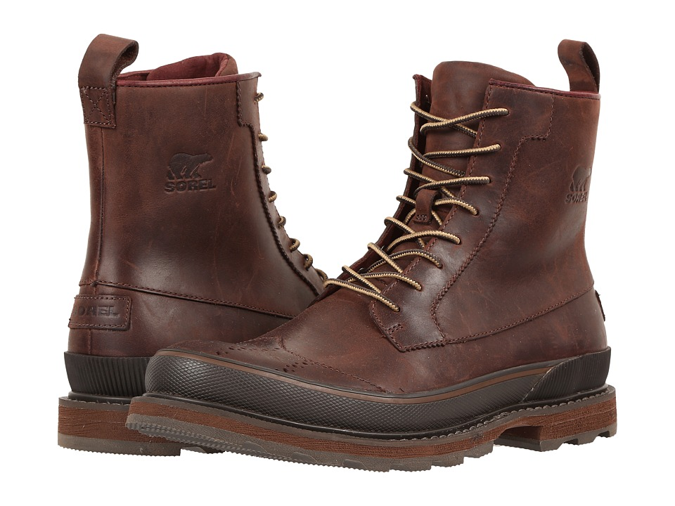 SOREL - Madson Wingtip Boot (Madder Brown) Men
