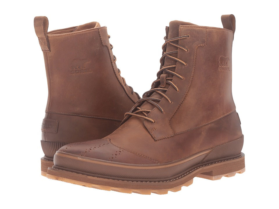 SOREL - Madson Wingtip Boot (Chipmunk) Men