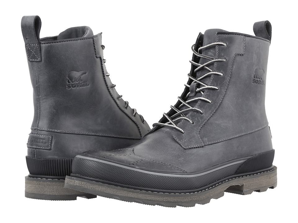 SOREL - Madson Wingtip Boot (City Grey) Men