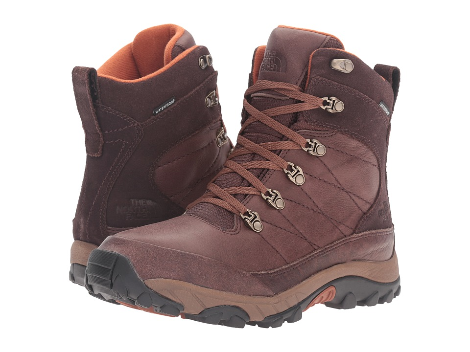 The North Face Chilkat Leather (Coffee Bean Brown/Gingerbread Brown) Men
