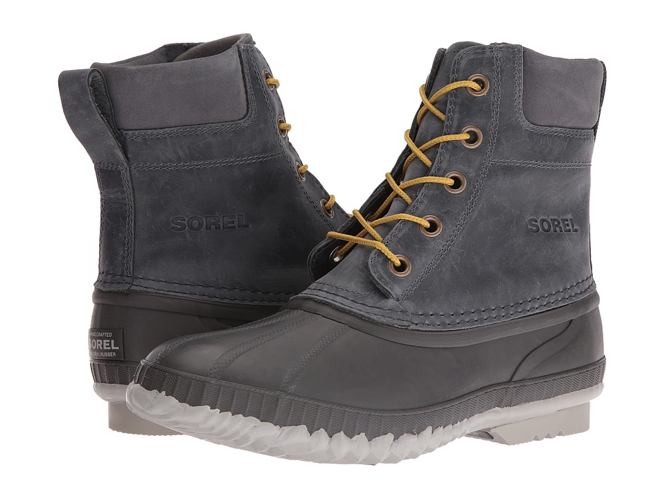 SOREL - Cheyanne Lace Full Grain (City Grey/Shark) Men