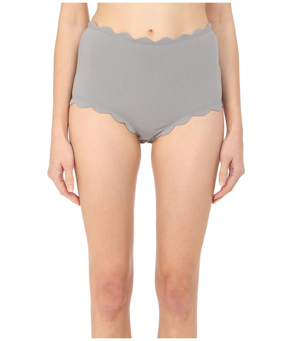 Marysia Santa Monica Bottoms Grey Womens Swimwear