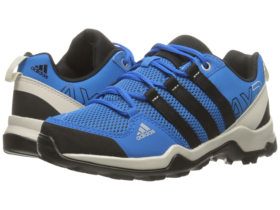 adidas Outdoor Kids AX2 (Little Kid/Big Kid) (Onix/Black/Shock Blue) Boys Shoes