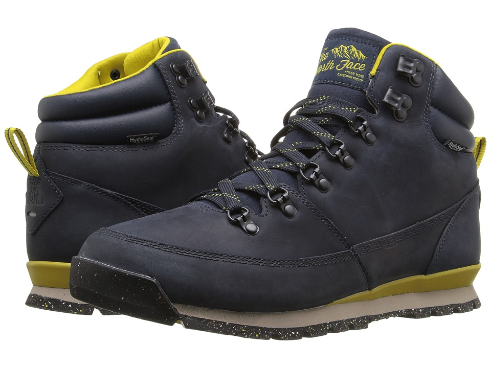 The North Face Back-To-Berkeley Redux Leather (Urban Navy/Antique Moss Green) Men
