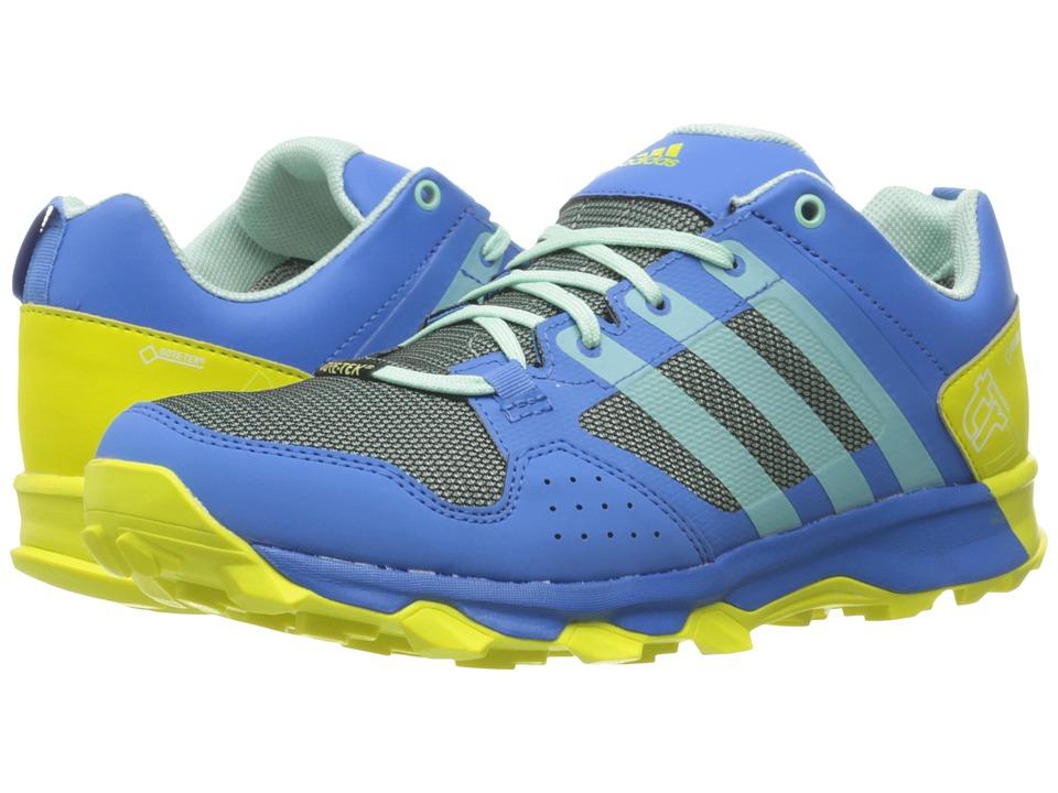 adidas Outdoor Kanadia 7 Trail GTX (Ray Blue/Ice Green/Shock Slime) Women