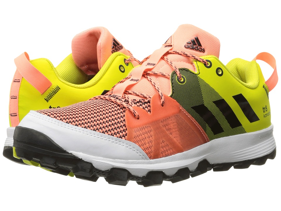 adidas Outdoor - Kanadia 8 TR (Sun Glow/Black/Shock Slime) Womens Running Shoes