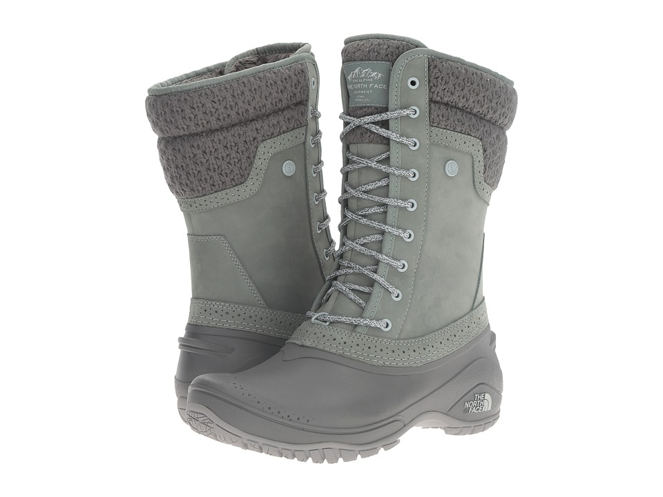 The North Face Shellista II Mid (Duck Green/Wrought Iron) Women