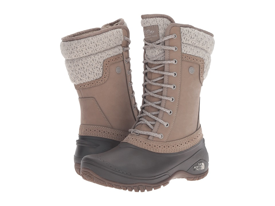 The North Face Shellista II Mid (Split Rock Brown/Dove Grey) Women