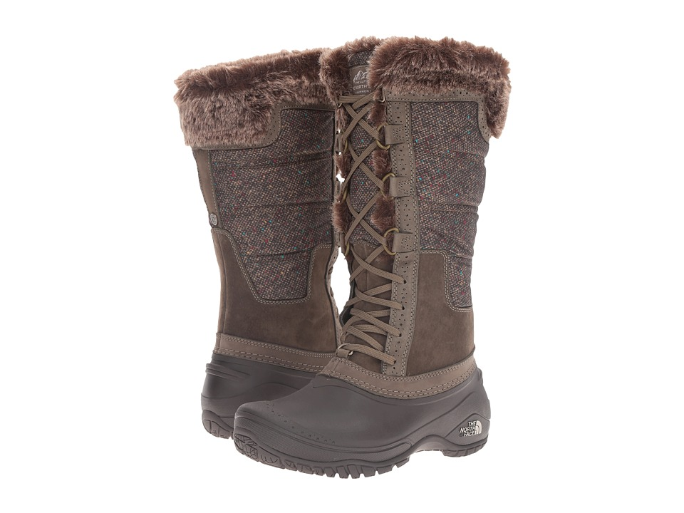 The North Face Shellista II Tall (Weimaraner Brown/Dove Grey (Prior Season)) Women's Cold Weather Boots