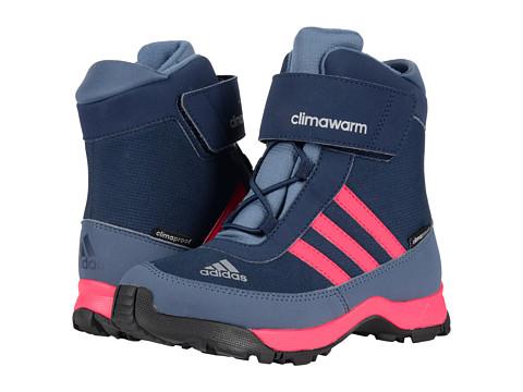 adidas Outdoor Kids CH Adisnow CF CP (Little Kid/Big Kid) - Collegiate Navy/Bahia Pink/Tech Ink