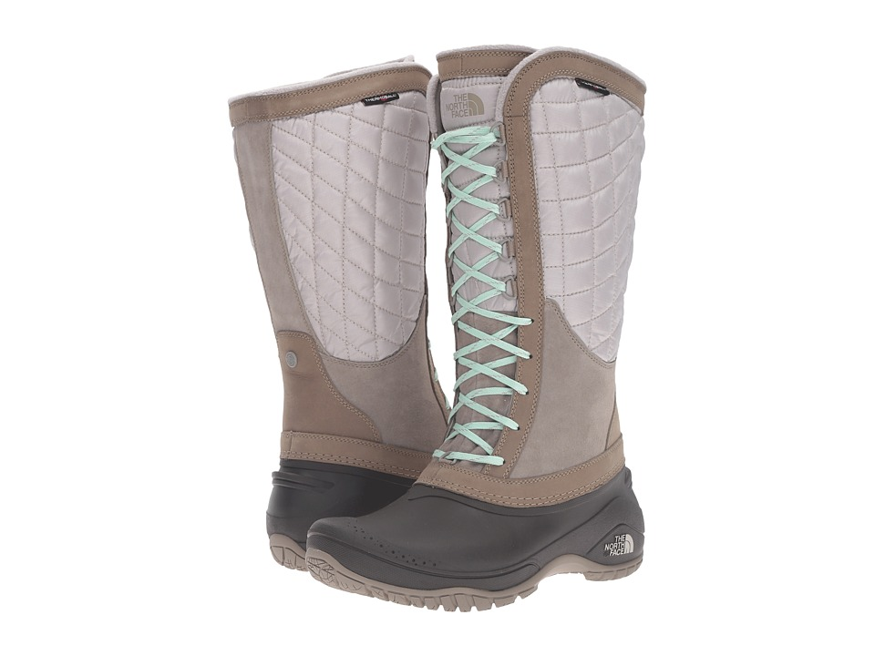 The North Face - ThermoBall Utility (Split Rock Brown/Subtle Green) Women