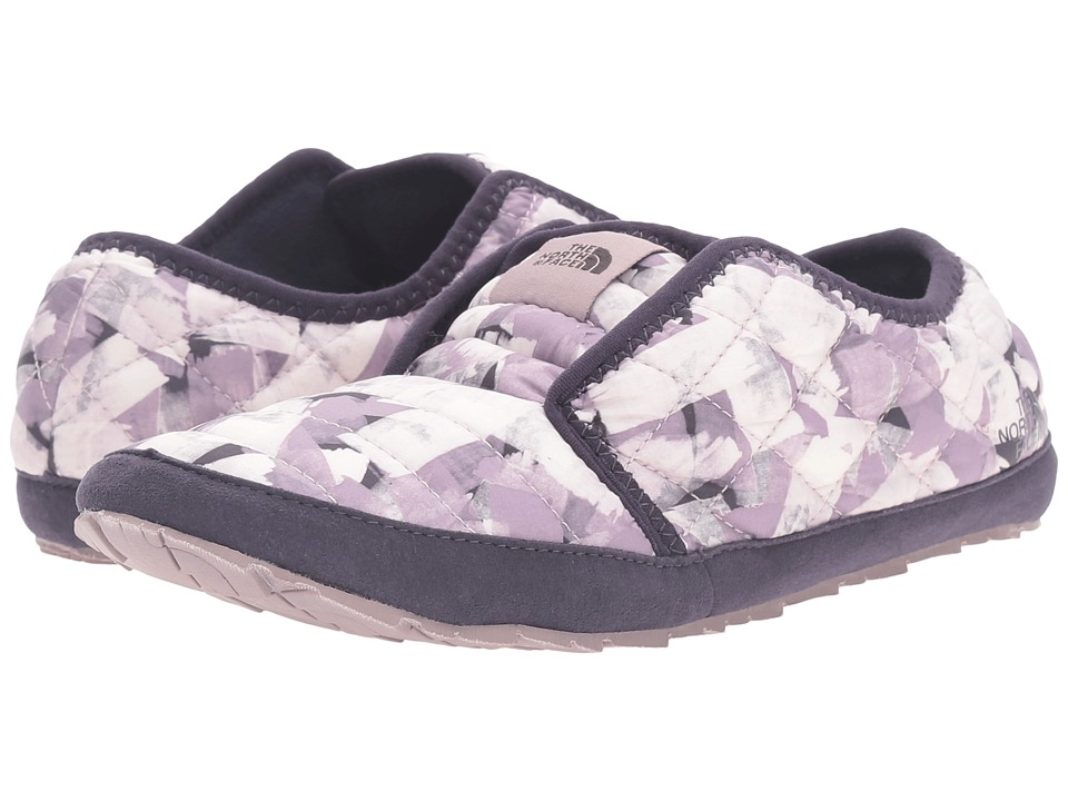 The North Face ThermoBall Traction Mule II (Rabbit Grey Swashed Print/Nine Iron Grey) Women