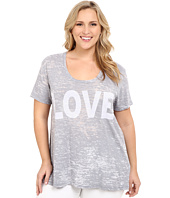 Allen Allen - Plus Size Love Tee