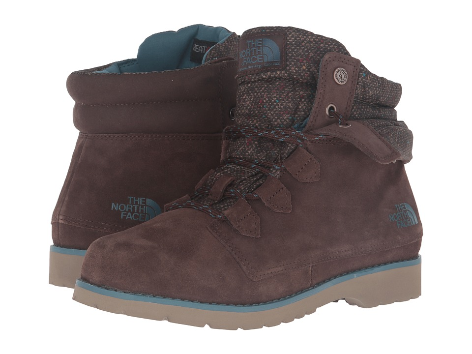 The North Face - Ballard Roll-Down SE (Demitasse Brown/Tapestry Blue) Women
