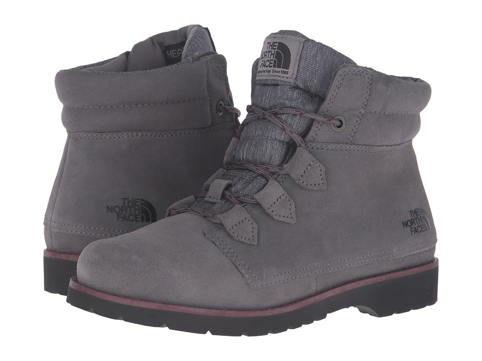 The North Face - Ballard Roll-Down SE (Smoked Pearl Grey/Deep Garnet Red) Women