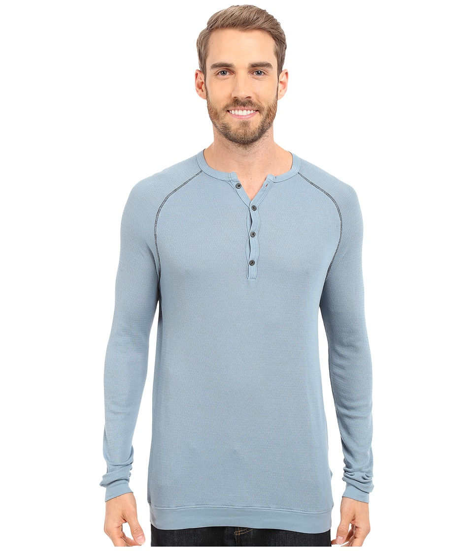 Agave Denim Bishop Supima Henley Long Sleeve Citadel Mens Clothing