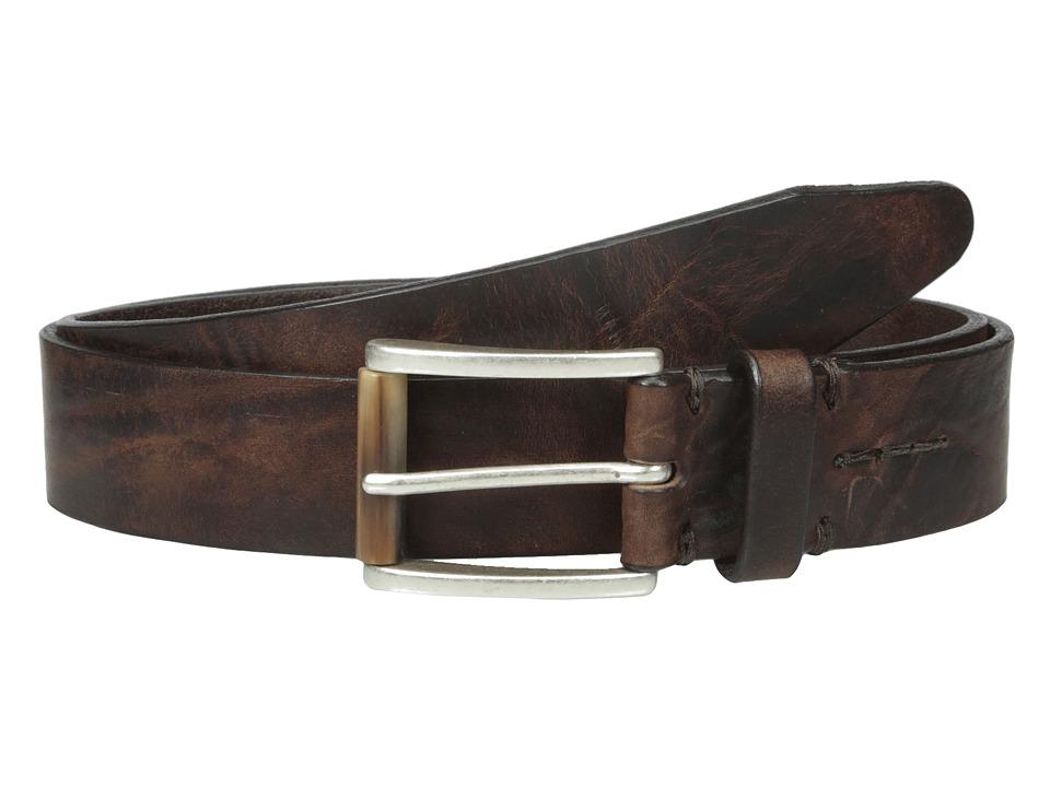 Allen Edmonds Horn Ridge Brown Mens Belts