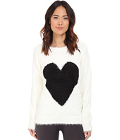 P.J. Salvage - Black Heart Cozy Sweater